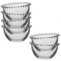 Set of 6 Luxury Bella Perle Dessert Bowls