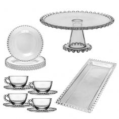 Bella Perle Afternoon Tea Set for Four