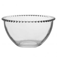 Bella Perle Beaded Glass Bowl