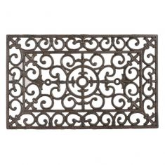 Cast Iron Scrolled Ornate Doormat