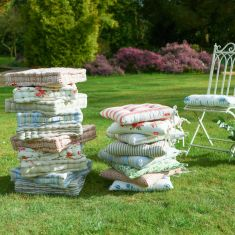Country Garden Cotton Seat Cushions