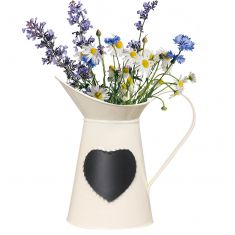 Cream Jug Vase with Chalkboard