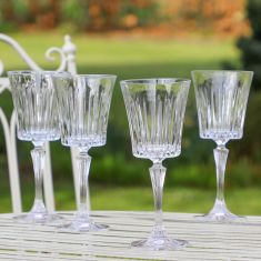 Set of 4 Abela Art Deco Water Glasses