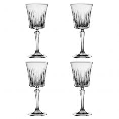 Set of 4 Abela Art Deco Water Glasses