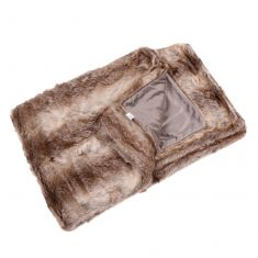 Mojave Faux Fur Throw