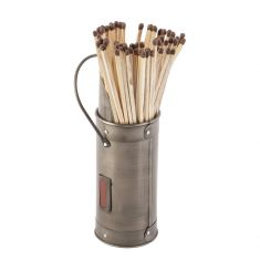 Regal Silver Matches Canister