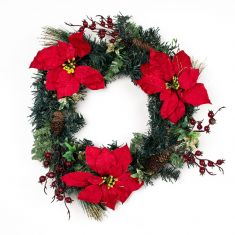 Decorative Red Winter Berry Wreath