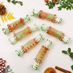 6 Rawhide Christmas Crackers