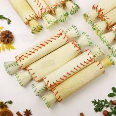 Set of 12 Delicious Dog Christmas Cracker