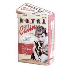 Vintage French Royal Calin Storage Tin