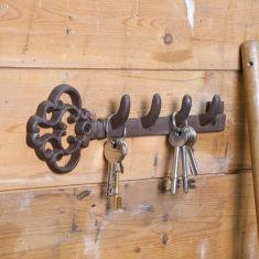 Vintage Key Potting Shed Storage Hook