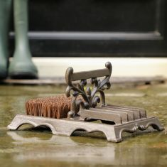 Cast Iron Boot Brush