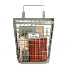 Sage Green Wall Storage Basket
