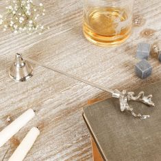 Silver Stag Candle Snuffer