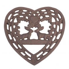 Cast Iron Deer Trivet