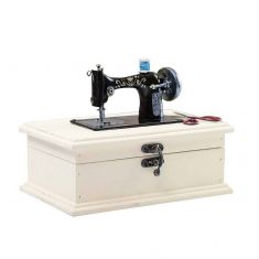 French Sewing Machine Vintage Sewing Box