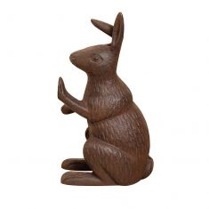 Vintage Cast Iron Hare Door Stop