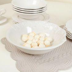 Marseille French Ceramic Salad Bowl