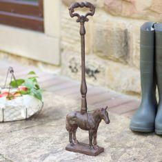 Horse Door Stop with Handle