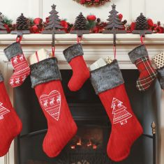 Traditional Christmas Fireplace Collection