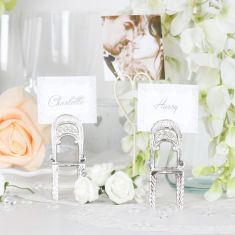 Chair Shaped Place Card Holder