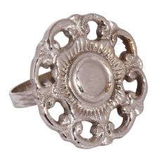 English Rose Flower Napkin Ring