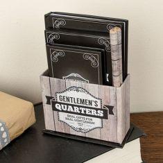 Gentlemen's Desktop Organiser Gift Set